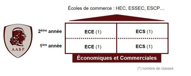Organisation des CPGE Économiques